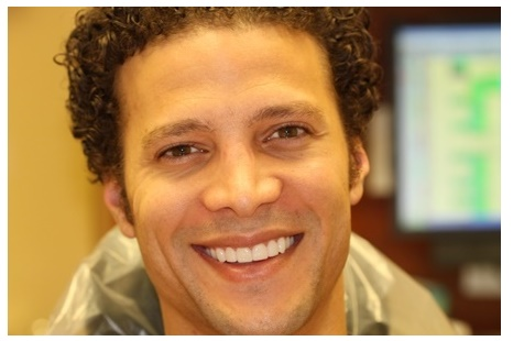 Justin Guarini After Dental Treatment